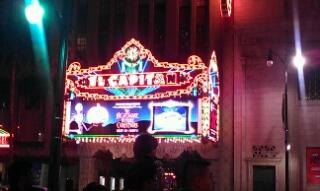 Hollywood's historic El Capitan theatre.