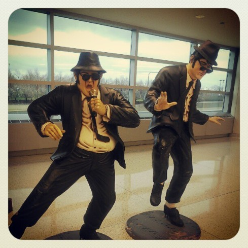 Blues Brothers, Chicago Midway airport