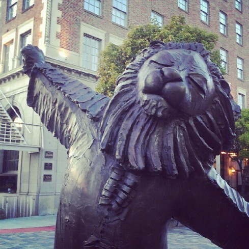 """The Lion's Fountain,"" Culver City, CA"