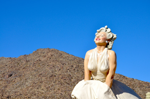 """Forever Marilyn,"" Seward Johnson. Palm Springs, California"