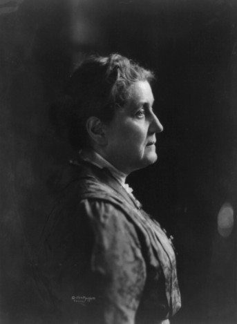 Jane Addams, first American woman to be awarded a Nobel Peace Prize