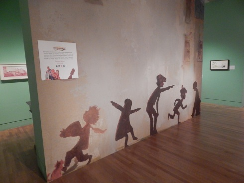 A shadow wall for children (and adults)!