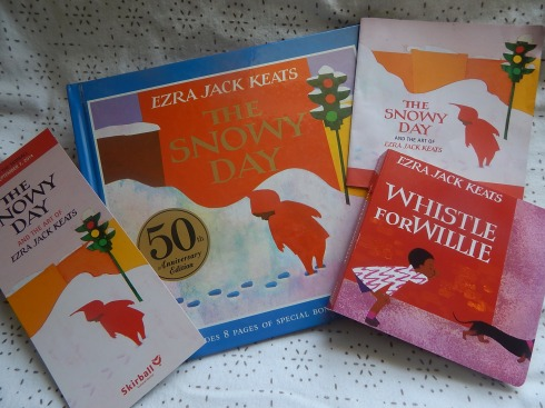 We came home with Whistle for Willie, another Keats book.