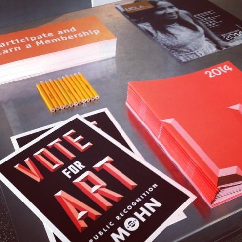 Vote for Art.