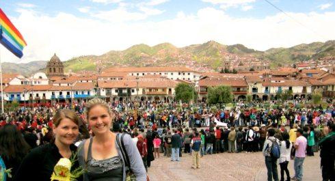 I was in Peru!