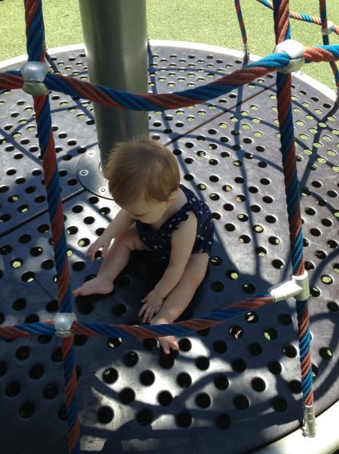 Margot enjoyed the park.