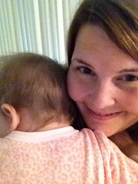 We cuddled.