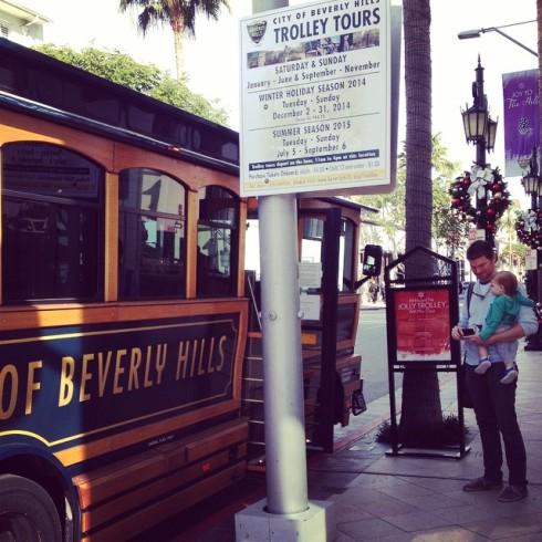All aboard the Jolly Trolley.